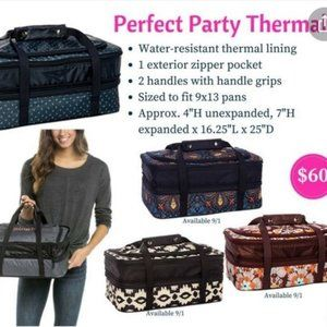 PERFECT Party Set NEW Thirty One Holds 2 Casserole